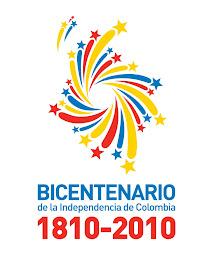 Logotipo del Bicentenario de la Independencia de Colombia
