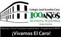 Logo del Centenario del Colegio José Eusebio Caro