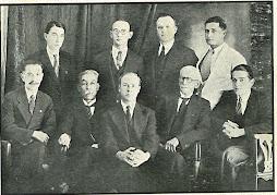 Fundadores de la Academia de Historia de Ocaña en 1935