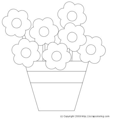 Lbum da artes vasos de flores - Dessiner un vase ...