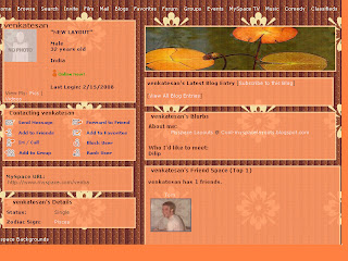 Brown myspace layouts