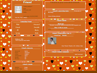Heart Myspace Layouts