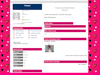 Myspace Default Layouts