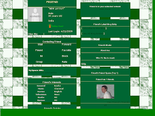 Vintage Layouts for MySpace, Friendster, Blogger, Twitter