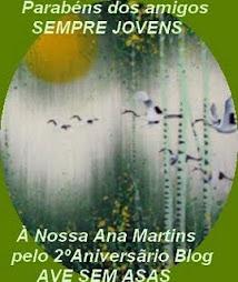 """Para o """"Ave sem Asas"""", da Ana Martins"""