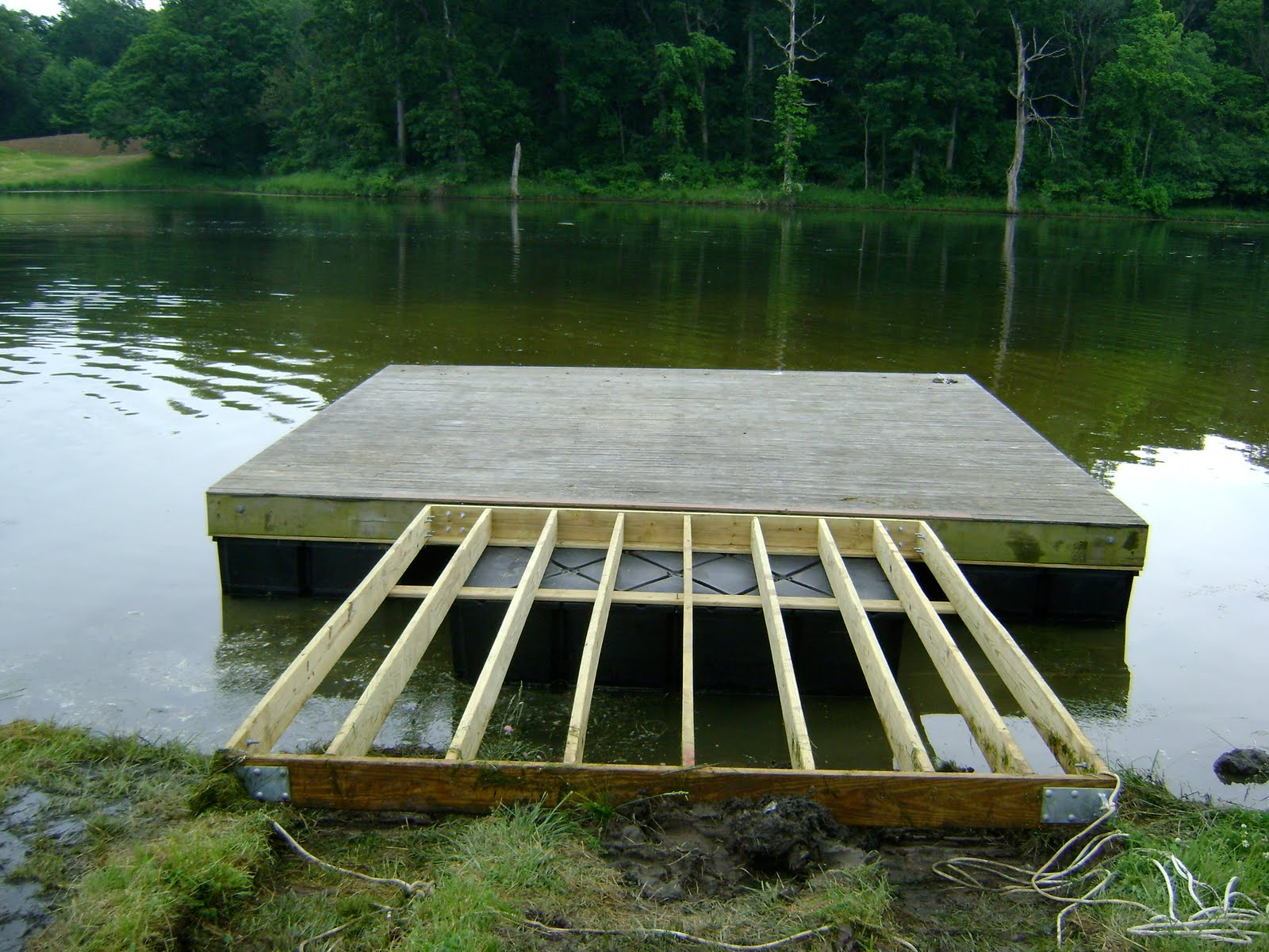 Herman Brothers Blog Building Floating Docks