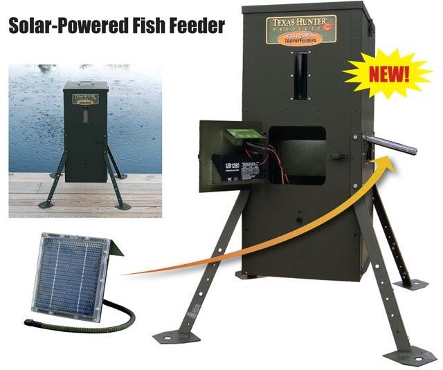 Herman brothers blog texas hunter df125 fish feeder for Texas hunter fish feeder