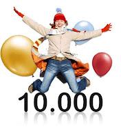 Cheguei as 10.000 visitas!