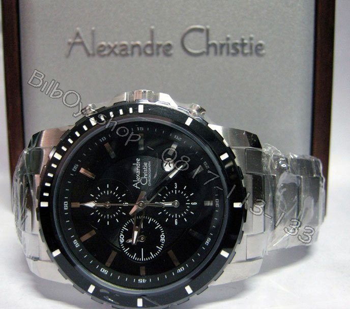 harga jam tangan alexandre christie on ALEXANDRE CHRISTIE 6141 ORIGINAL