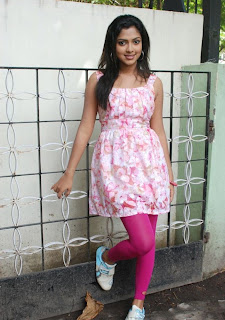 Amla Paul Placen Simple beauty in a Flower Dress Beautiful Pictures