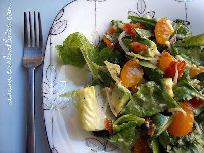 Spinach Mandarin Poppy Seed Salad - Our Best Bites