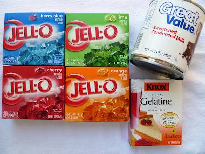 how to make mosaic gelatin
