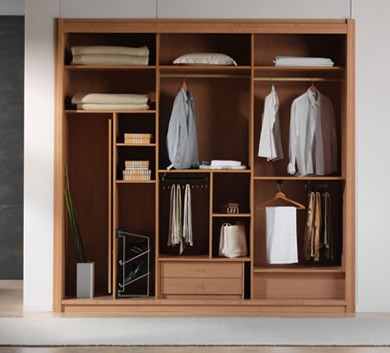 The utility driven wardrobe designs for 4 door wardrobe interior designs