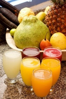 Fruit Juice and Dry Fruits