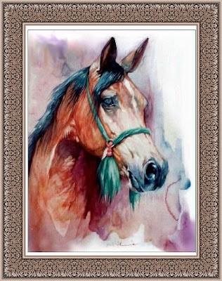 لكل يوم لوحة فنية - صفحة 8 Horse2