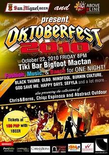 Oktoberfest 2010 at Tiki Bar Bigfoot, Mactan