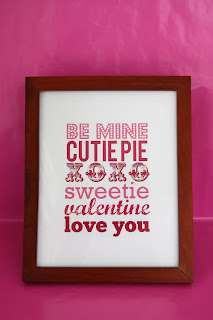 Recycled Craft: Printable Valentine's Day Art