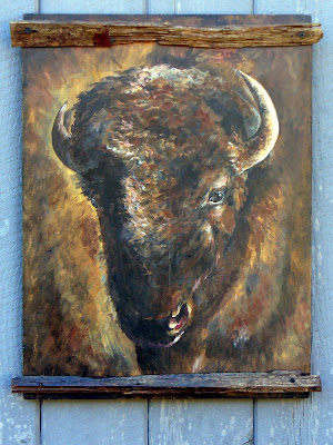 Buffalo L.M.T. Rustic Western Imports Miscellaneous