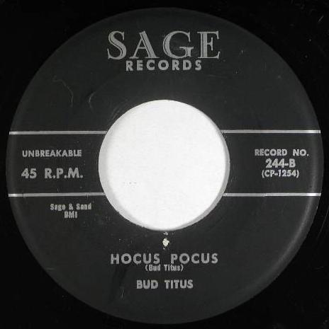 Bud Titus - Tomorrow - Hocus Pocus