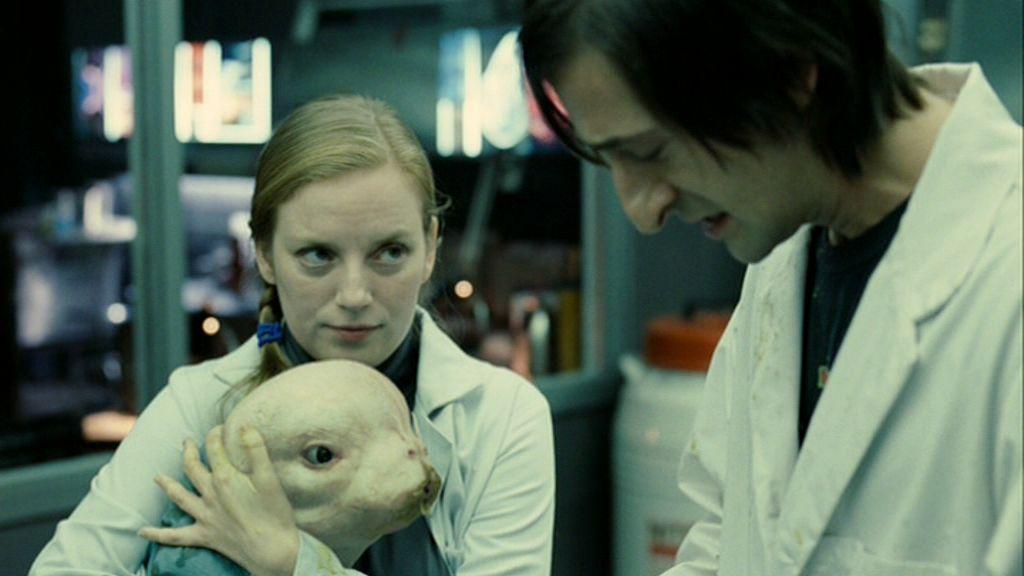 A Singular '-Splice'- Of Domestic Dramas, Sci-Fi Shocks : NPR