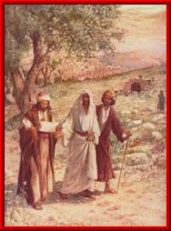 Evangelio miércoles:   Lc  24, 13-35