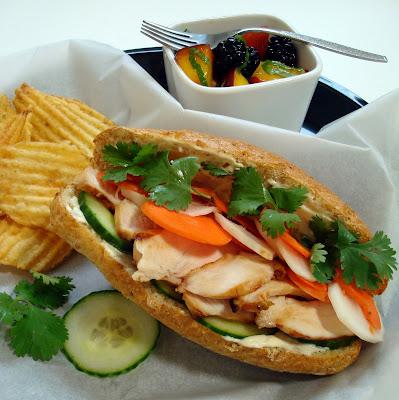 Vietnamese Banh Mi Sandwich