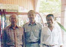 Bersama Dato' Sanusi Junid dan Allahyarham Dato' Ibrahim Hussain