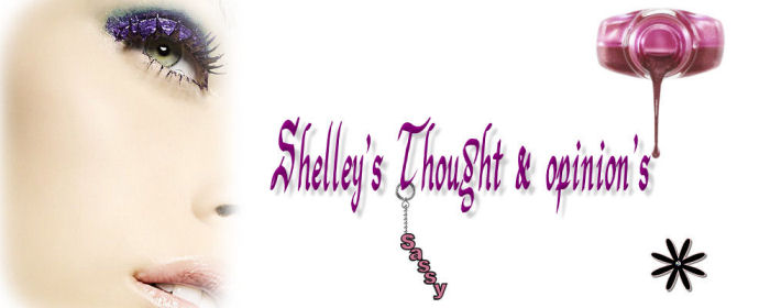 Shelley's Thoughts.....
