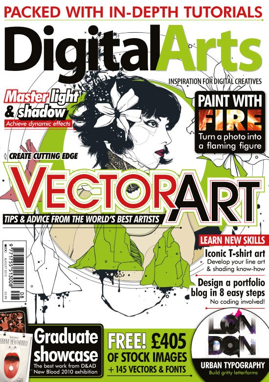 the life of skye digital art magazine cover. Black Bedroom Furniture Sets. Home Design Ideas