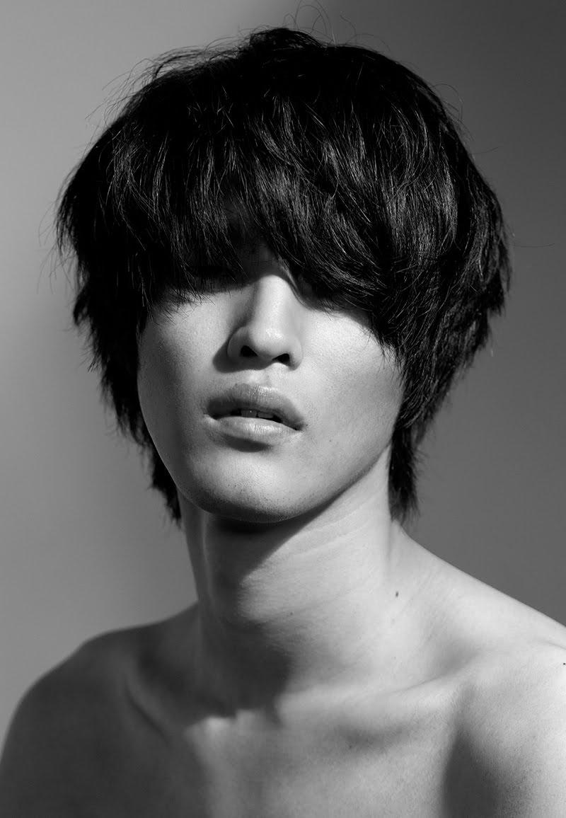 Asian boy model