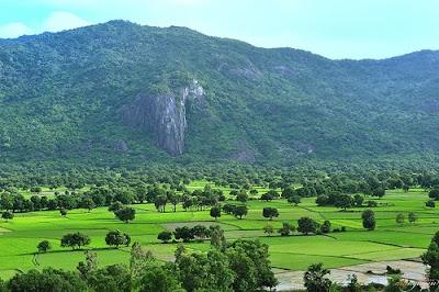 Image result for đỉnh mồ côi trên núi Cấm châu đốc