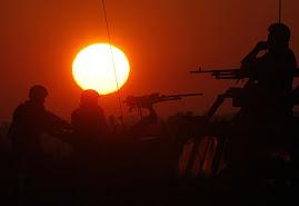 Un amanecer sin arte y con guerra