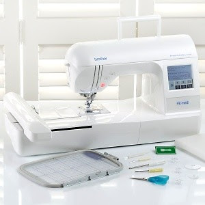 Brother PE770 Embroidery Machine- Grand Slam + 50% Off Hoops!!!