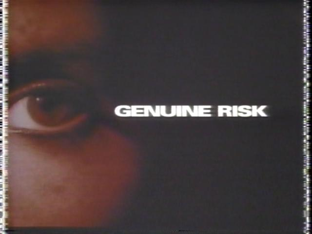 AND HARD TO FIND TITLES  TV and Feature Film: Genuine Risk 1990