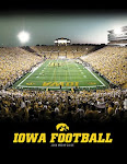 The Iowa Hawkeyes are the defending B1G West division champs!