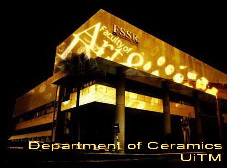department of ceramics uitm