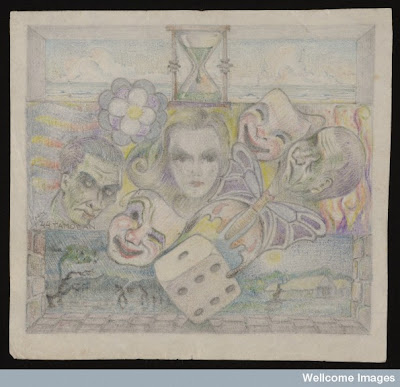 Wellcome Library Item of the Month: Pencil drawings by an unknown Prisoner of War (August 2010)