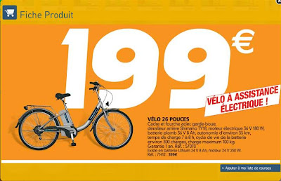 Velo electrique auchan - Auchan livraison a domicile ...