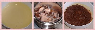 Torta al cioccolato e crema di latte