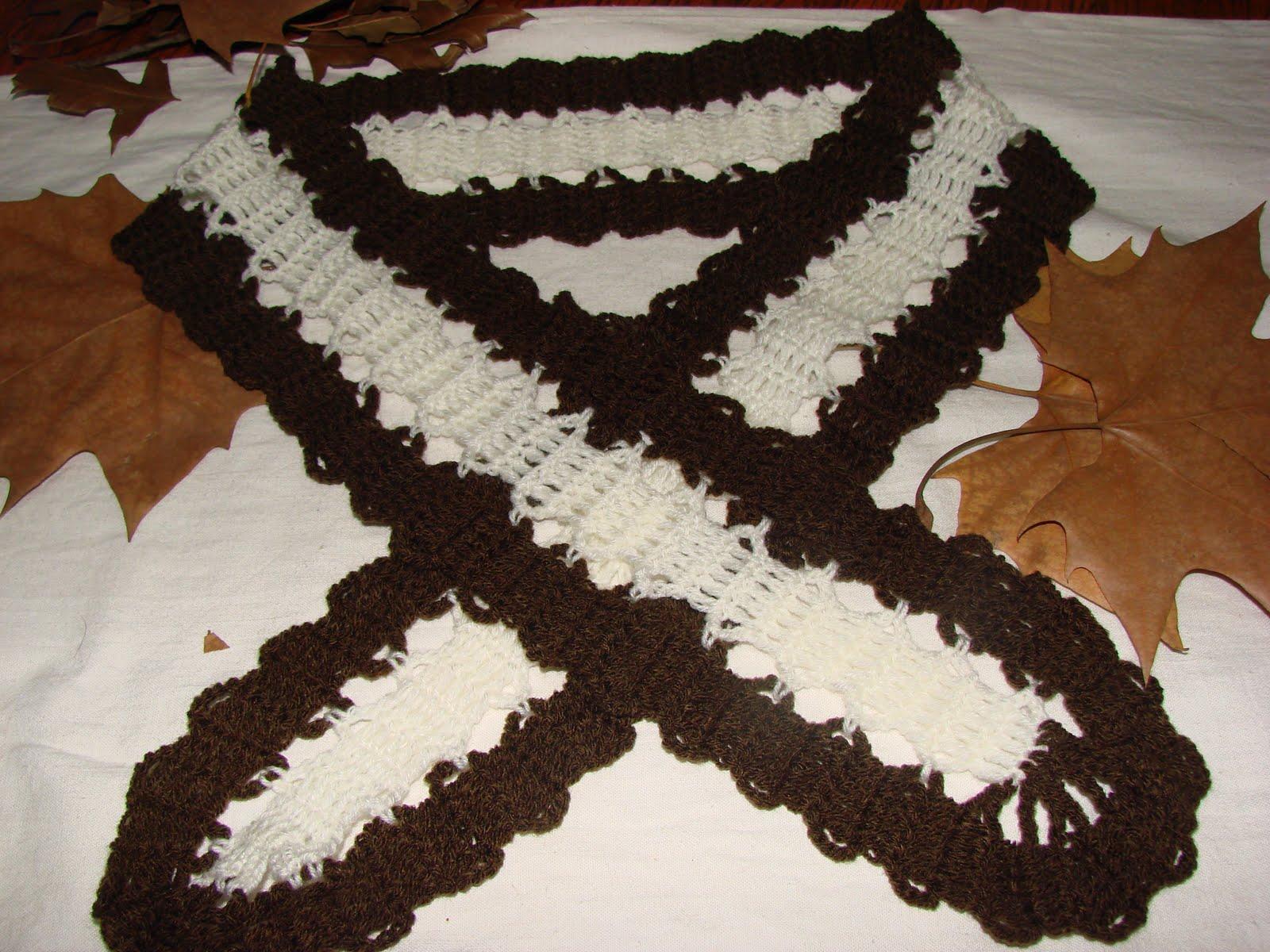 Patrones De Bufandas Tejidas a Crochet
