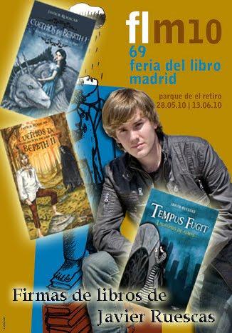 Firmas de javier ruescas en la feria del libro de madrid - Casa del libro madrid horario ...