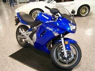 modif motor yamaha: Kawasaki Ninja 650R Modification
