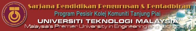 Serjana Pendidikan Pengurusan & Pentadbiran UTM