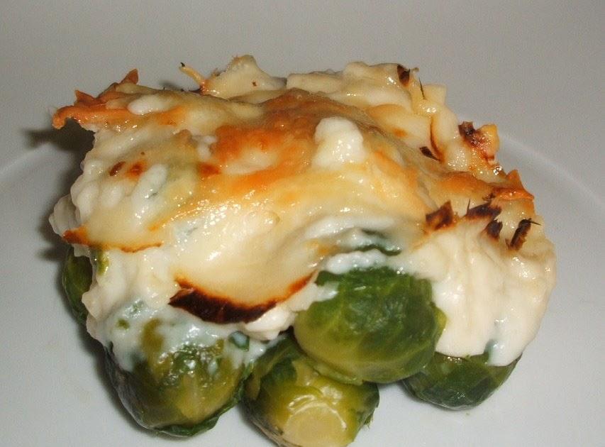 La cocina del bichillo coles de bruselas gratinadas - Cocer coles de bruselas ...