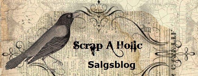 Scrap A Holic salgsblog