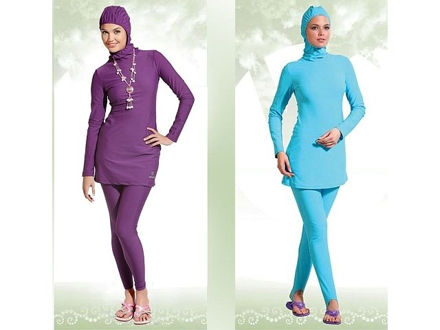 Imagenes De Baño Solo Para Mujeres: : 2011: El burkini, lo último en trajes de baño para musulmanas