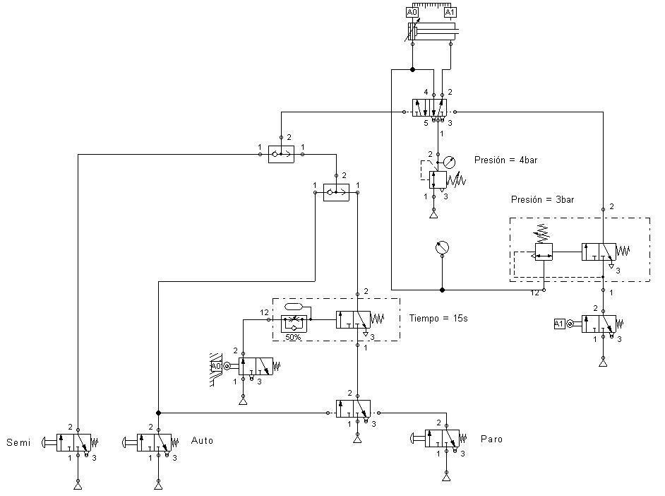 Circuito Neumatico : Automatización industrial septiembre