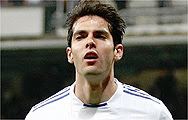 Kaka exhausted left the pitch