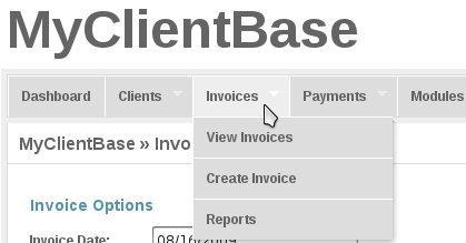 Ahsan Habib MyClientBase Open Source Invoice Management - Open source invoice management