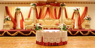 Contemporary Indian Wedding Stage Decorations